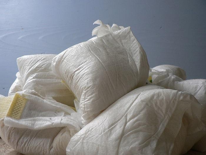 紙オムツ廃棄物