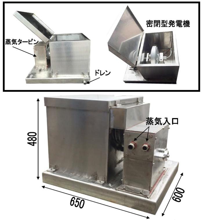 蒸気発電装置