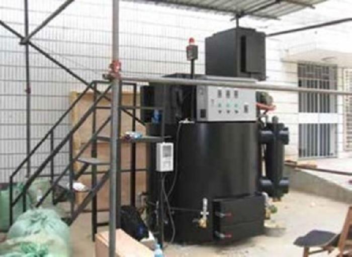 磁気熱分解装置の病院敷地内への設置